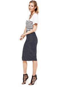 never met a stripe I didn't like.  Gwyneth Paltrow for Lindex