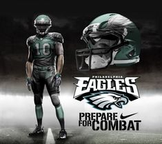 Philadelphia Eagles Home Uni by DrunkenMoonkey.deviantart.com on @deviantART