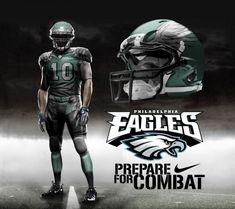 Philadelphia Eagles Home Uni by DrunkenMoonkey.deviantart.com on @deviantART
