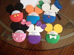 My baby's invitations Minnie mickey daisy Pluto Donald goofy and mickey!!!!