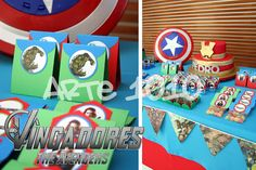 Arte 1010: Festa Os Vingadores (The Avengers)