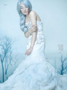 blue tenderness from Vogue