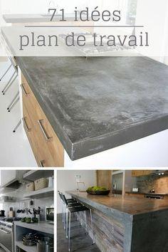ideas for diy wohnen beton Küchen Design, House Design, Interior Design, Design Ideas, Home Staging, Concrete Countertops, New Kitchen, Kitchen Ideas, Home Kitchens