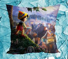 Disney Pinocchio  Pillow Case Pillow Cover by GoingShop on Etsy