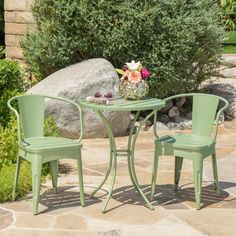 Colmar Cast Iron Patio Bistro Set - Matte Green - Christopher Knight Home : Target Recycling, Target, Patio Furniture Sets, Furniture Ideas, Coaster Furniture, Rustic Furniture, Garden Furniture, Antique Furniture, Furniture Design
