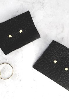Our gold square studs are the perfect earring for any minimalist. Made from 14k solid gold, these studs are simple, small and versatile. Want the layered look? Purchase a single stud here. • 14k yello