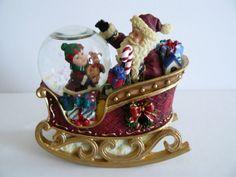 Vintage Santa Snow Globe by Saltofmotherearth on Etsy, $10.00