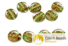 ✔ What's Hot Today: Green Gold Lampwork Czech Glass Handmade Beads Set Solid Gold 24K Rondelle Round Tablet Shape Flat Original Authentic 12mm 2pc https://czechbeadsexclusive.com/product/green-gold-lampwork-czech-glass-handmade-beads-set-solid-gold-24k-rondelle-round-tablet-shape-flat-original-authentic-12mm-2pc/?utm_source=PN&utm_medium=czechbeads&utm_campaign=SNAP #CzechBeadsExclusive #czechbeads #glassbeads #bead #beaded #beading #beadedjewelry #handmade