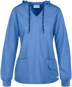 684662c721d Black Scrub Hoodie Dental Uniforms, Healthcare Uniforms, Work Uniforms, Ceil  Blue Scrubs,