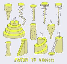Many paths to success