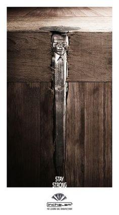 """Inchalam Nailsの広告: Mandela      """"Stay strong"""""""