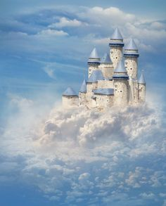 Fairyland Castle Photography Backdrops Newborn by katehome2014