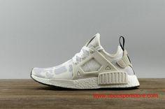 Adidas NMD XR1 PK BA7233 White Camo Men's Shoes $75.00