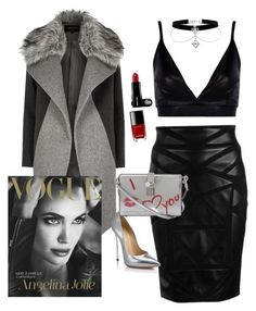 """""""Untitled #24"""" by a-a-nikandrova ❤ liked on Polyvore featuring Boohoo, Versace, River Island, Casadei, Dolce&Gabbana and Chanel"""