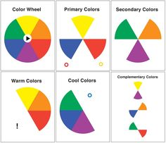 here's a color wheel! you can see which colors go together. want a really eye-popping combo? go for colors that are opposite each other on the wheel.