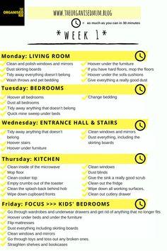 The Organised Mum Method Week 1: FREE PRINTABLE – The Organised Mum