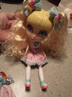 Cute 1999 Chiffon from Jada Cutie Pops Doll 10 5 in with Some Accessories   eBay