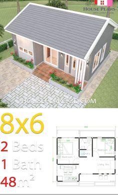 Small House Layout, House Layout Plans, Small House Design, House Layouts, Little House Plans, Small House Plans, Sims House Plans, Barn House Plans, The Plan