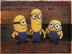 Wundervolle Amigurumi Welt: Die Minions kommen! free pattern (de, es, en)