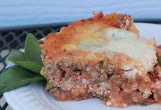 Crockpot Lasagna - Low Carb