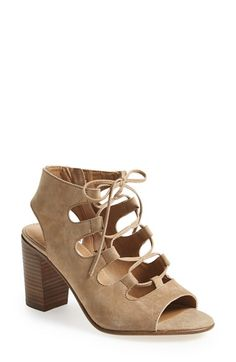 Steve Madden 'Nilunda' Lace-Up Sandal (Women) available at #Nordstrom