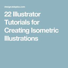22 Illustrator Tutorials for Creating Isometric Illustrations