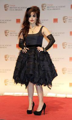 Helena Bonham Carter as Madame Thenardier.  She's going to be freaking amazing.  #LesMiserables
