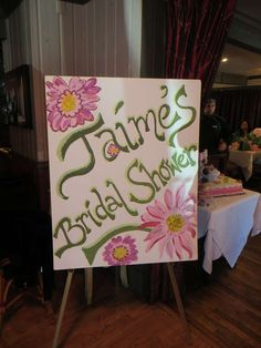 Pink and green Bridal/Wedding Shower Party Ideas | Photo 1 of 26 | Catch My Party