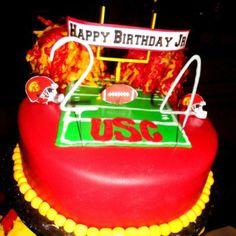 USC Cake!! MY BDAY PLEASE!!!!