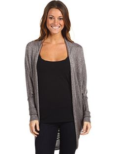 $77 Michael Stars Shimmer Cocoon Cardi