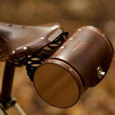Bicycle Seat Barrel Bag | Walnut Studiolo