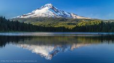 Photo Of The Day - Mt. Hood Reflected In Trillium Lake