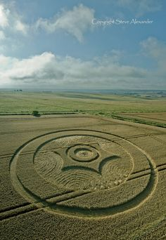 Crop Circle Images 2014 - Photography by Steve Alexander.