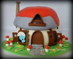 De Smurfen taart