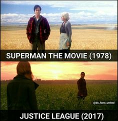 Juctice league tribute to superman