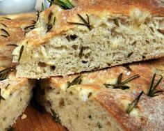 Foccacia bread Though focaccia (a traditional Italian flatbread) is yeasted, it doesn't take as long to make as other yeasted breads; it onl...