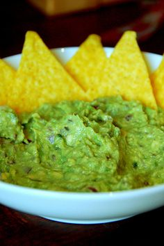 """The Best Guacamole"" . If any of my guests ever say that I make the best guacamole, I'll know I have arrived. Think Food, I Love Food, Good Food, Yummy Food, Yummy Eats, Appetizer Recipes, Snack Recipes, Cooking Recipes, Appetizers"