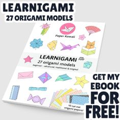 Learnigami spring 2017 27 fun origami models pdf ebook learn how to make a modular origami hinged box using 3 pieces of square paper fandeluxe Document