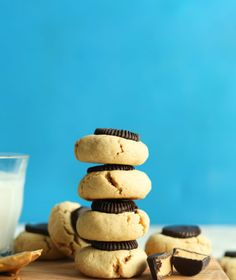 Peanut Butter Cup Cookies (V/GF)