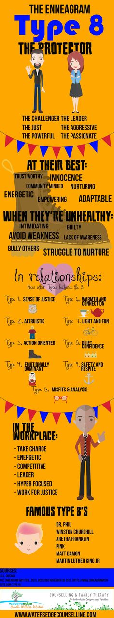 The-Enneagram-Type-8-The-Protector-Infographic
