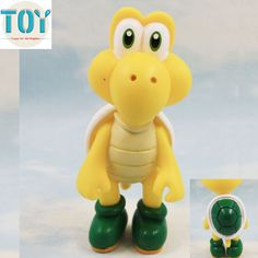 Find More Action & Toy Figures Information about New 1 PCS Super Mario Bros Turtle Koopa Troopa PVC Action Figures Kids Toys Birthday…