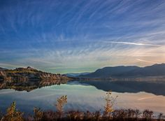 Beautiful Okanagan Lake in British Columbia, Canada. Glad to live only 10 short minutes away from relaxation.