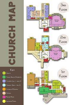 Amazing Church Map - Love this graphic! Comments give more info on how to create one!