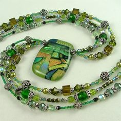 Beautiful beaded jewelry by Sylvia Swasey Designs
