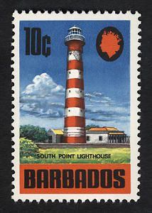 10c South Point Lighthouse single, 1970