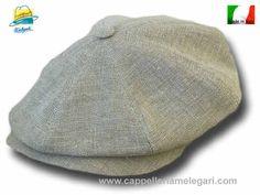 Berretto Marsigliese a spicchi Gatsby cap