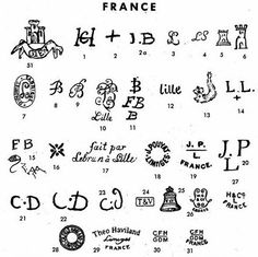 Limoge markings. Of note #19 on hand painted 1909 SF sugar and · Antique PotteryCeramic PotteryPottery MarksAntique GlasswareMakers MarkChina ...  sc 1 st  Pinterest & Antique Porcelain Marks | Pottery u0026 Porcelain Marks | Pinterest ...