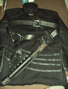 Scabior's costume and Amazing Wand Holster