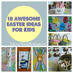 10 Easter Crafts & Activities for kids