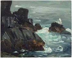 Robert Henri, Rocky Promontory, Monhegan, Maine, Aschan School